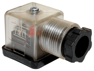 AFS-43650A-110VAC-x DIN Connector w/Lights